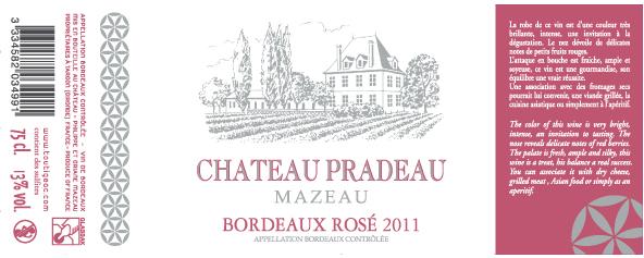 Château Pradeau Mazeau Rosé